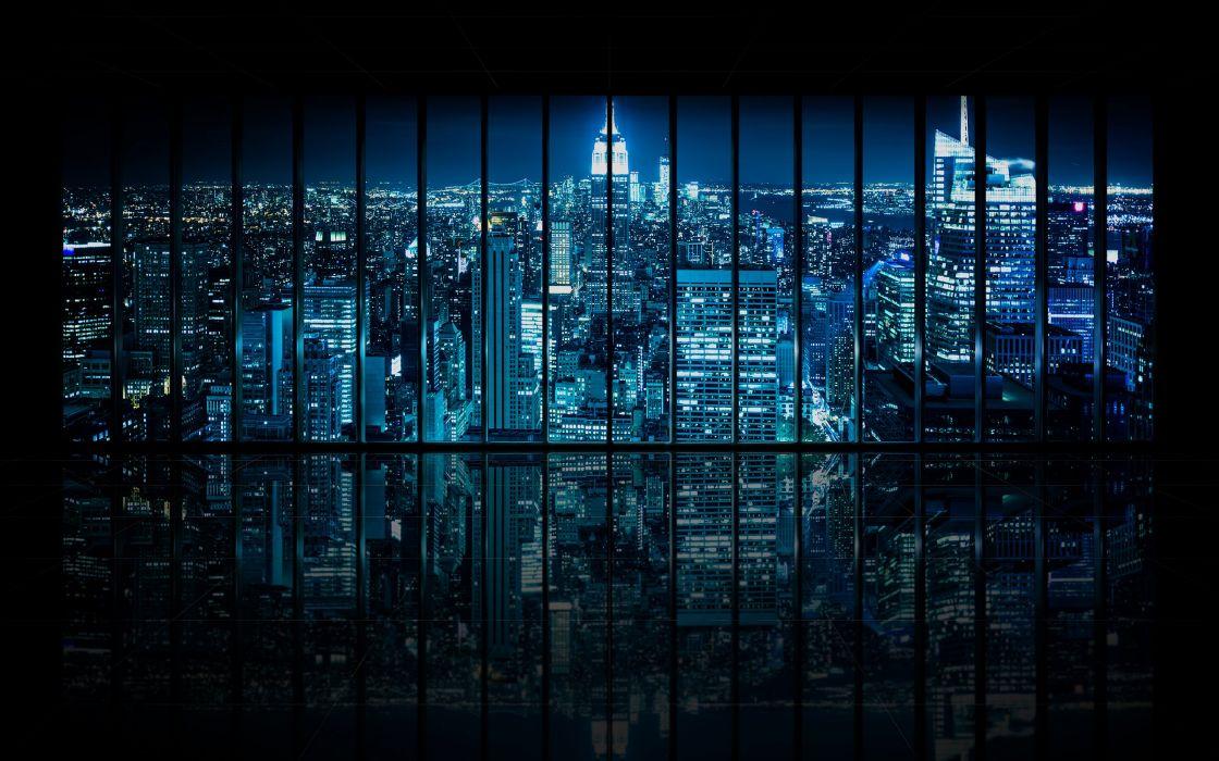GOTHAM crime drama thriller batman series city wallpaper
