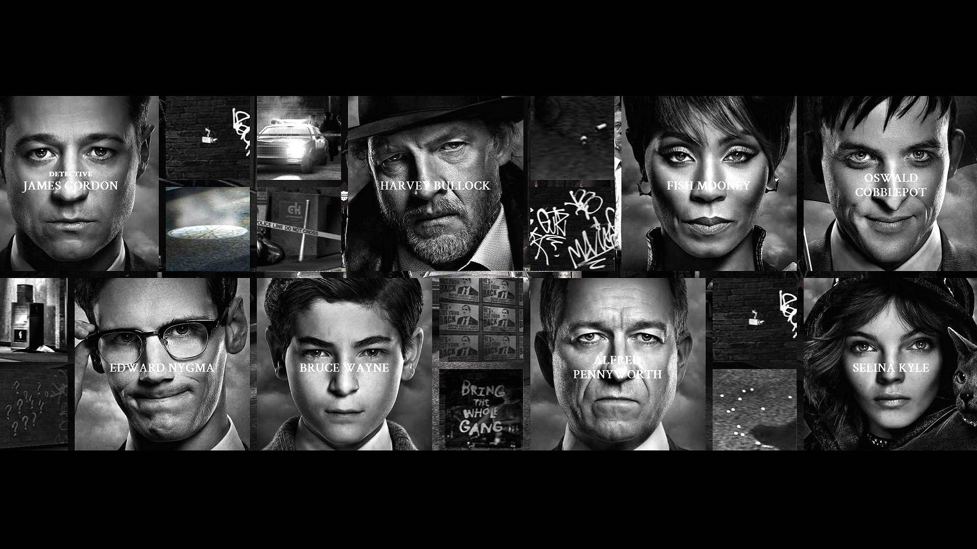 Gotham tv Series Wallpaper Gotham Crime Drama Thriller