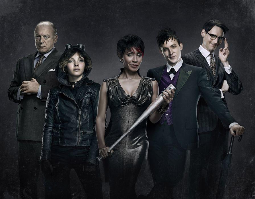GOTHAM crime drama thriller batman series wallpaper