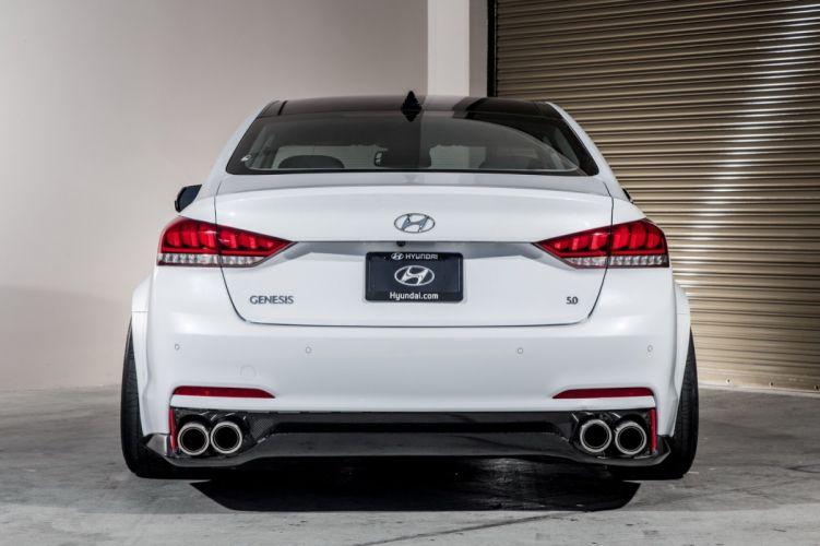 2014 Genesis AR550 Hyundai sedan SEMA tuning wallpaper