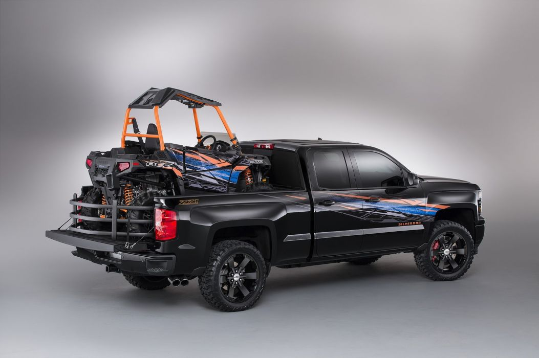 Chevrolet Silverado High Desert concepts pickup cars tuning SEMA 2014 wallpaper