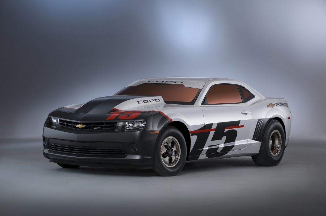 Chevrolet COPO Camaro tuning cars SEMA 2014 wallpaper