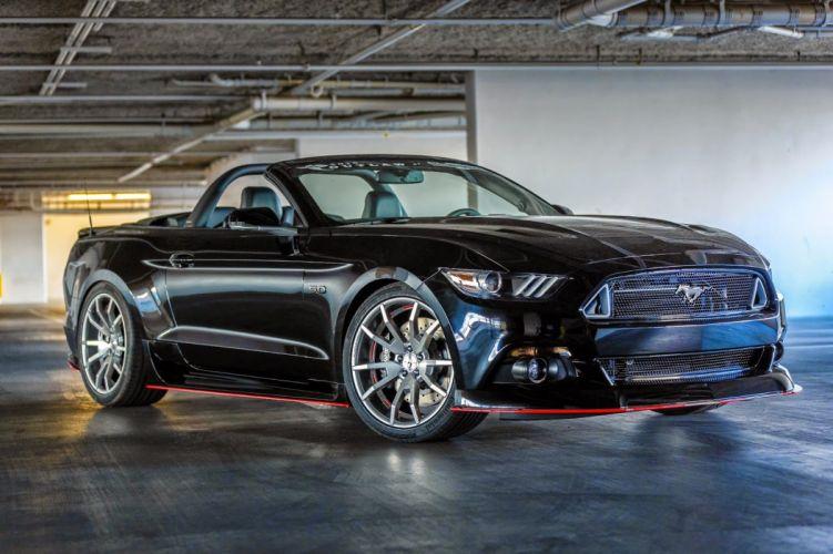 Ford mustang cars tuning SEMA 2014 wallpaper