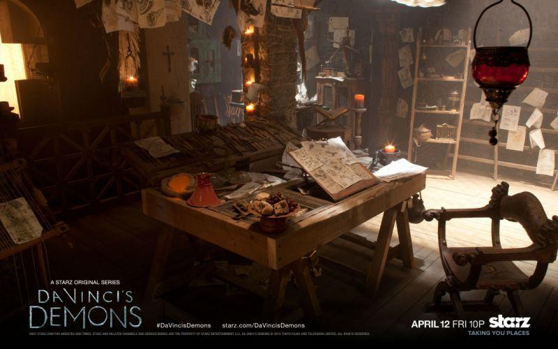 DaVINCIS DEMONS adventure drama fantasy series vincis wallpaper