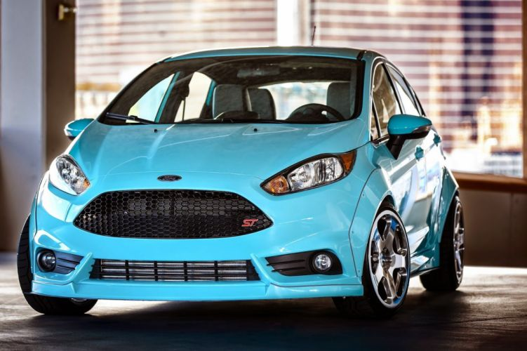 ford fiesta cars tuning SEMA 2014 wallpaper