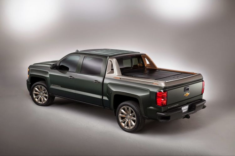 Chevrolet Silverado High Desert concept pickup cars tuning SEMA 2014 wallpaper