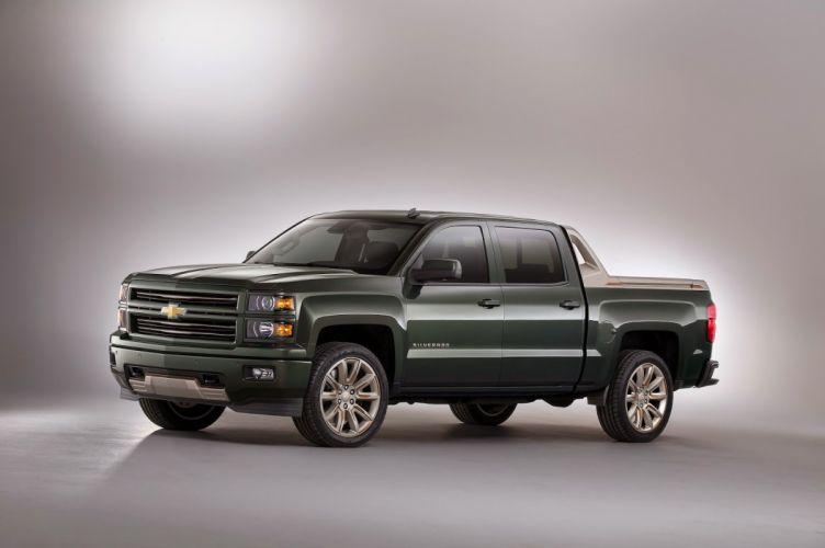 Chevrolet Silverado High Desert concept pickup cars tuning SEMA 2014 wallpaper