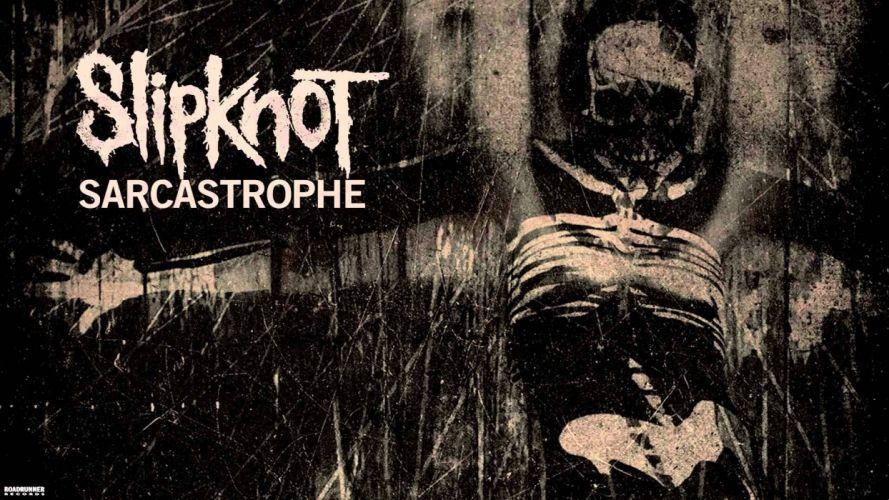 SLIPKNOT nu-metal groove metal heavy dark wallpaper