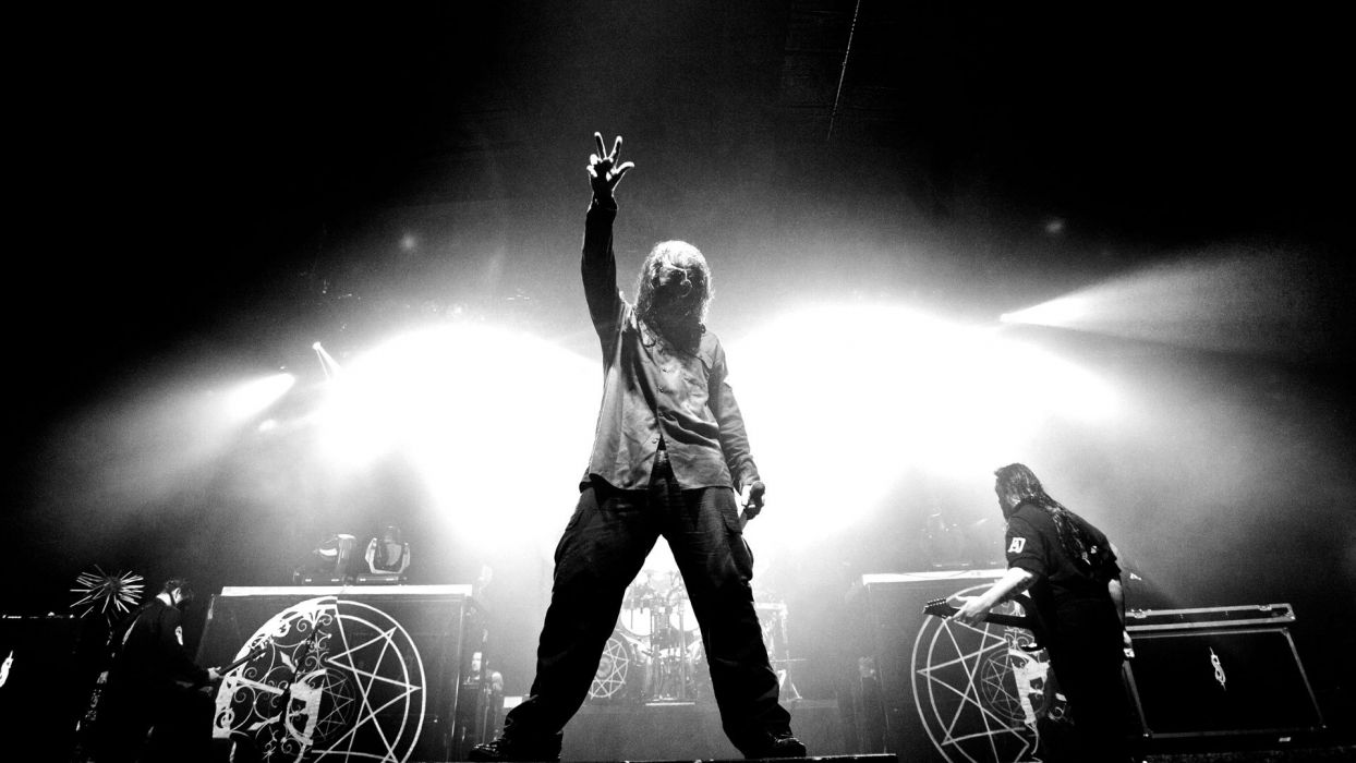 Slipknot Nu Metal Groove Metal Heavy Concert Singer Wallpaper