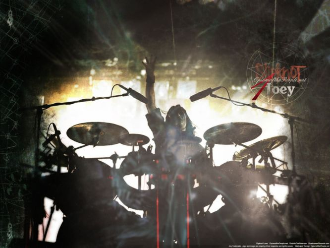 SLIPKNOT nu-metal groove metal heavy drums concert wallpaper