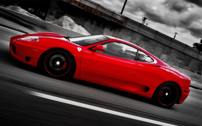 ferrari on forged cf 5 wheels-2560x1600 wallpaper