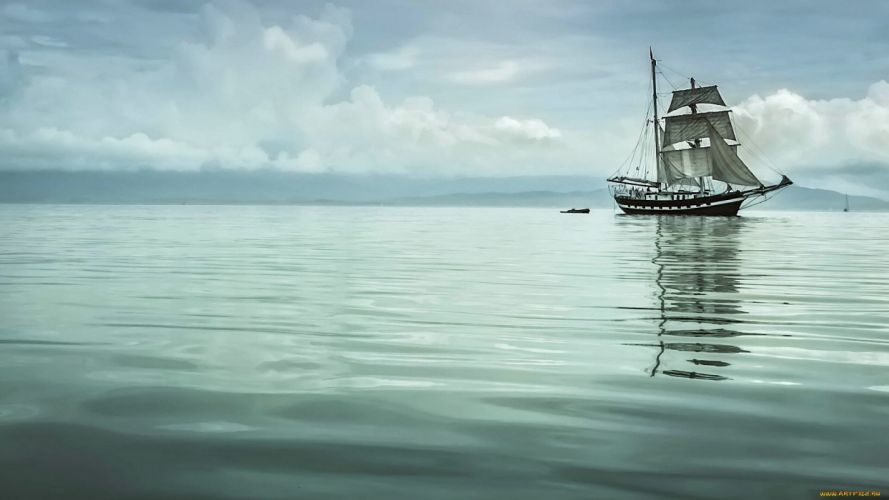 boat watercraft sailboat sea wallpaper