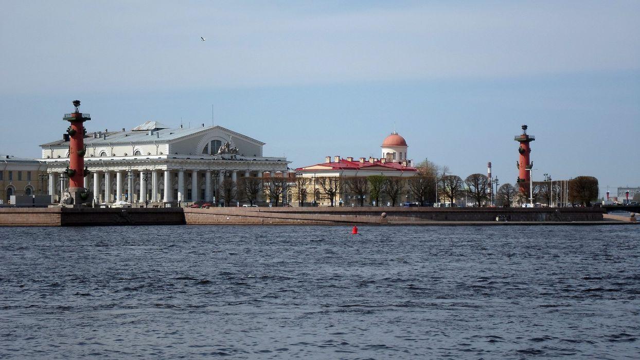 sea arhitecture town sky wallpaper
