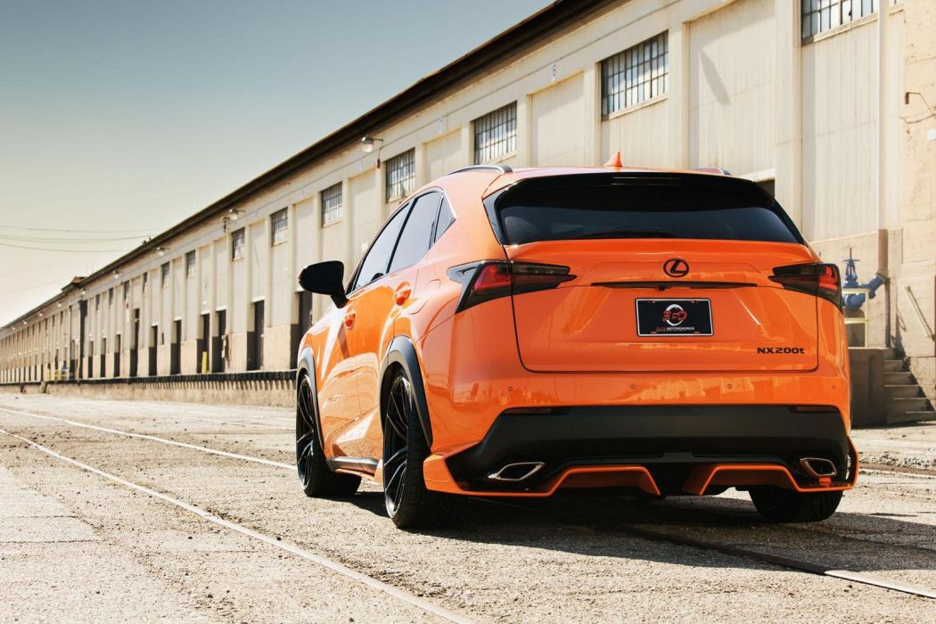 Lexus-NX cars suv tuning SEMA 2014 wallpaper