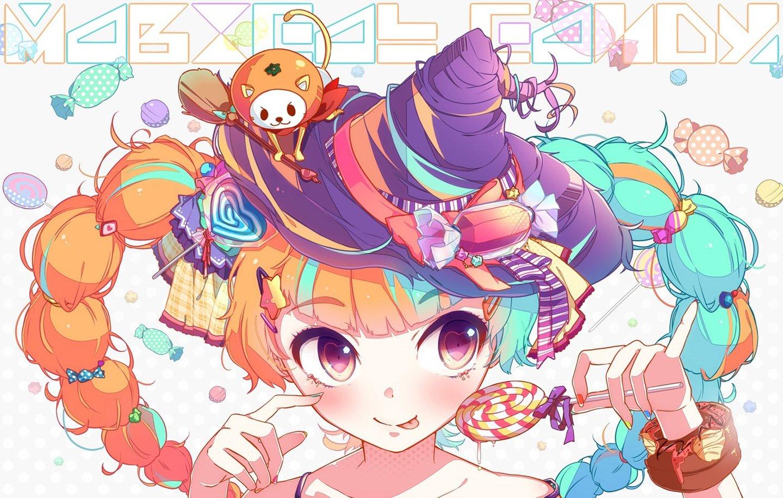 Anime candy girl