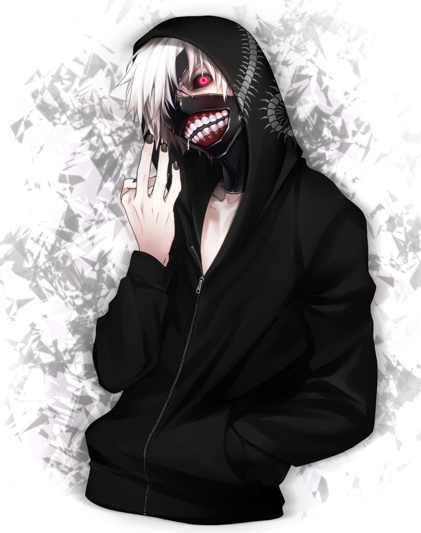 Demon anime boy devil red eyes wallpaper | 1440x1825 ...