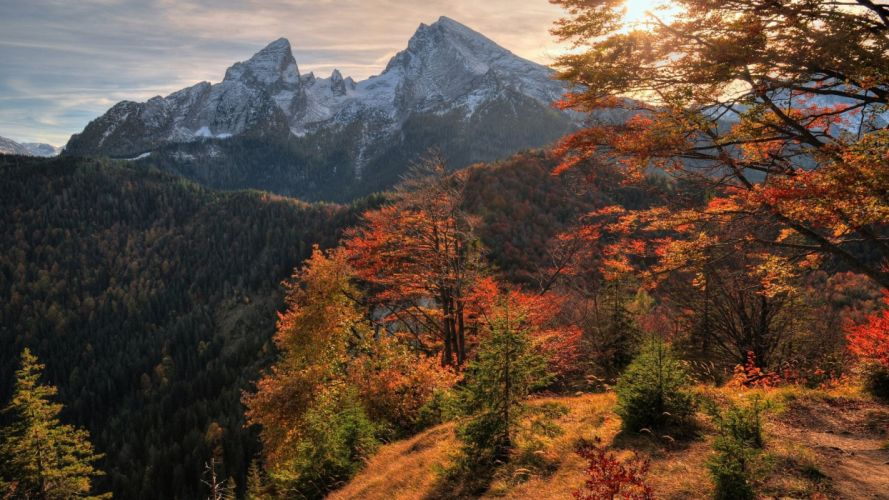 landscape nature mountain wallpaper