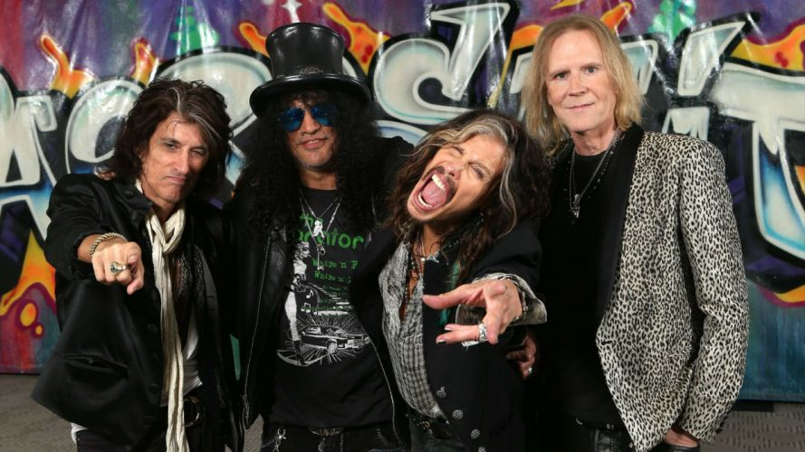 AEROSMITH hard rock glam heavy metal glam guitar concert slash wallpaper