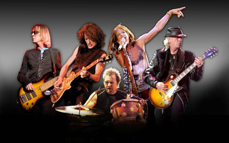 AEROSMITH hard rock glam heavy metal glam guitar wallpaper