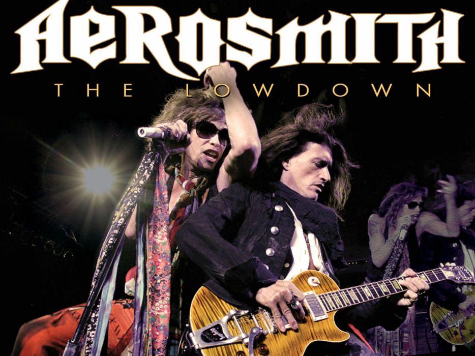 AEROSMITH hard rock glam heavy metal glam guitar concert wallpaper