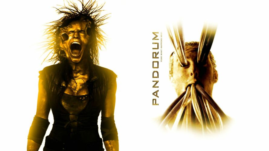 PANDORUM action horror mystery sci-fi apocalyptic cyborg wallpaper