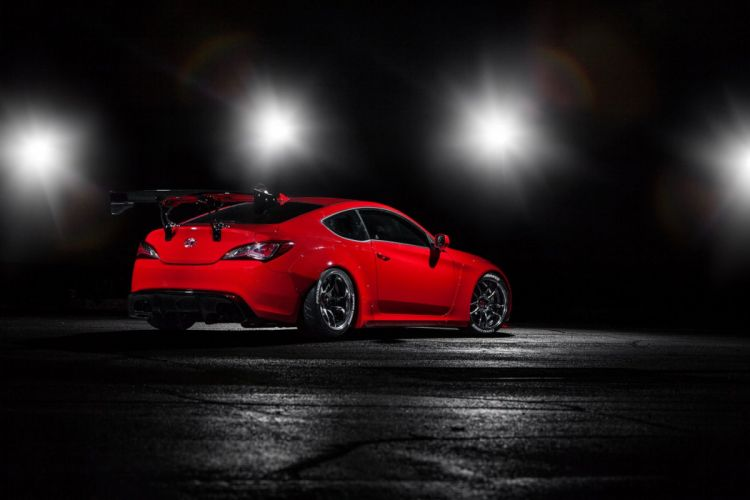 Racing Genesis Coupe Hyundai cars SEMA 2014 tuning wallpaper