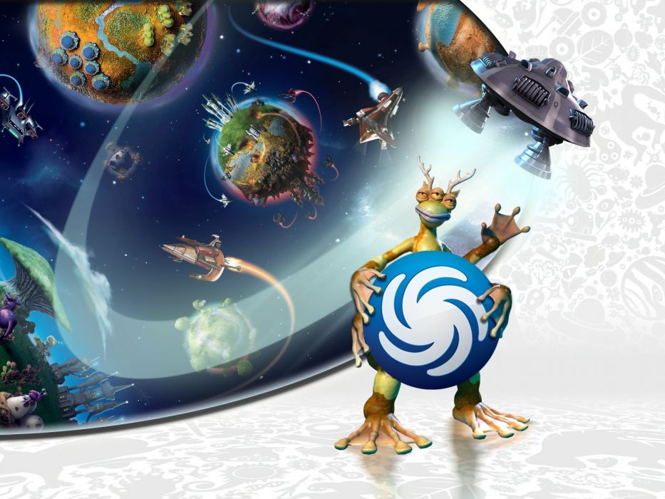SPORE strategy fantasy simulation creation wallpaper
