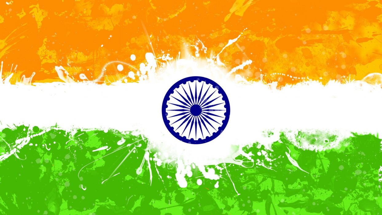 Creative Watercolor Indian Flag Background For Indian: INDIA FLAG Flags Indian Wallpaper