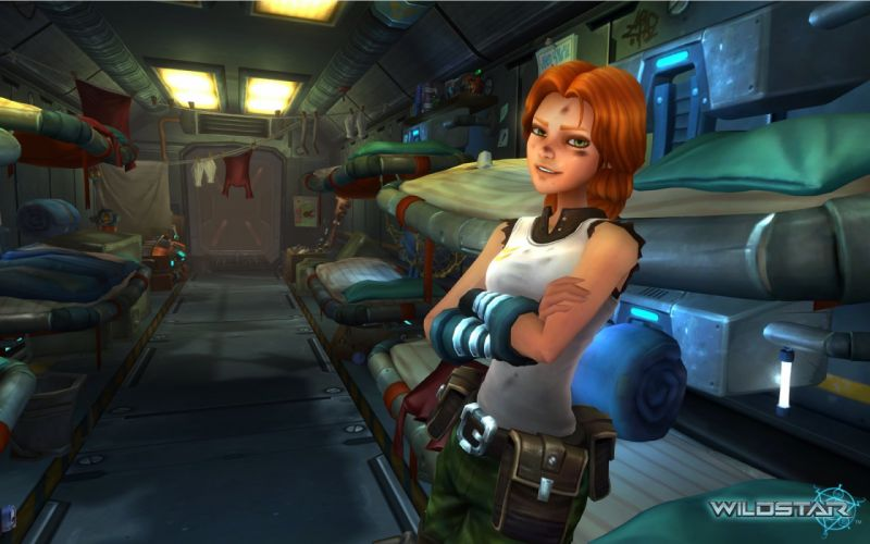 WILDSTAR online rpg fantasy sci-fi mmo fighting wallpaper