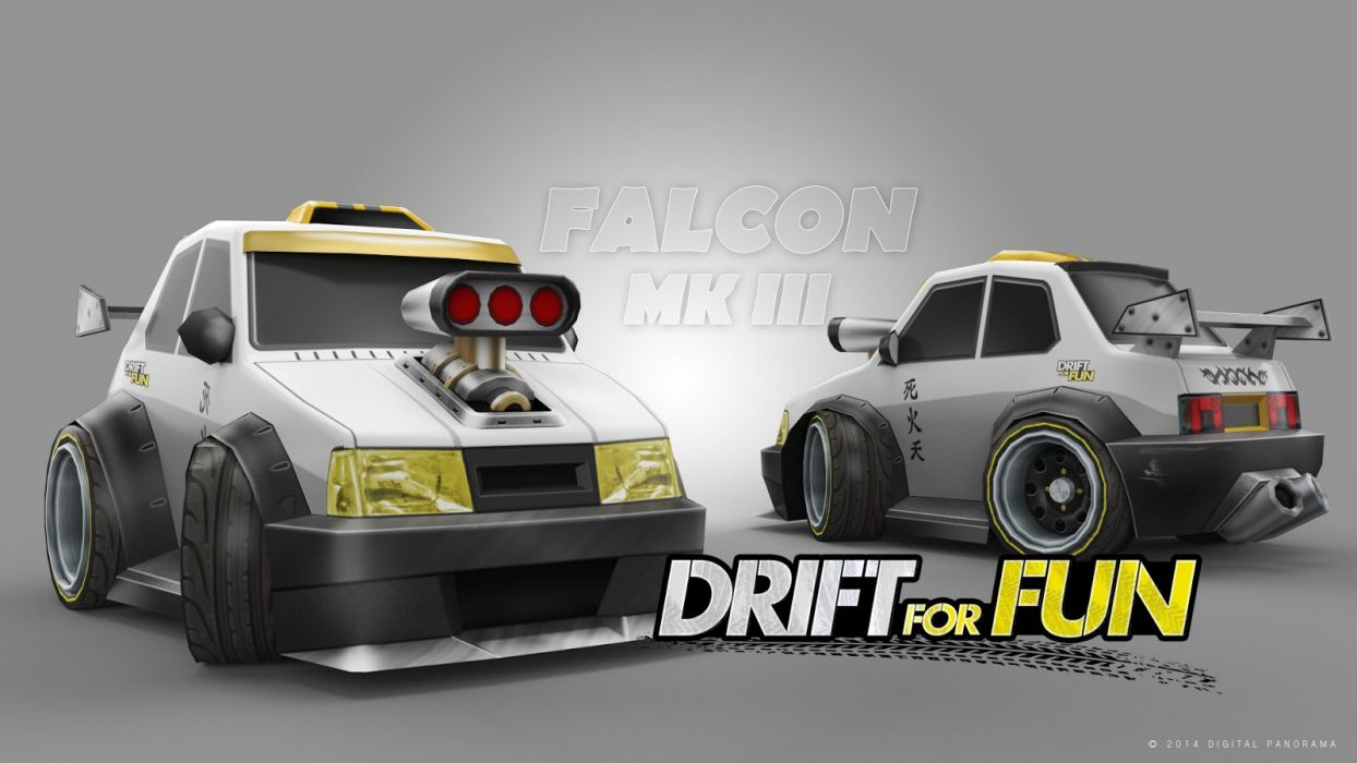Drift for Fun Android Falcon MK III 3 racing game tablet phone video games wallpaper
