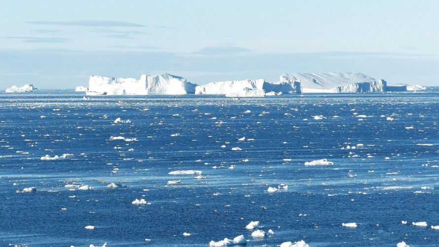 Greenland iceberg cold snow ice ocean growler wallpaper