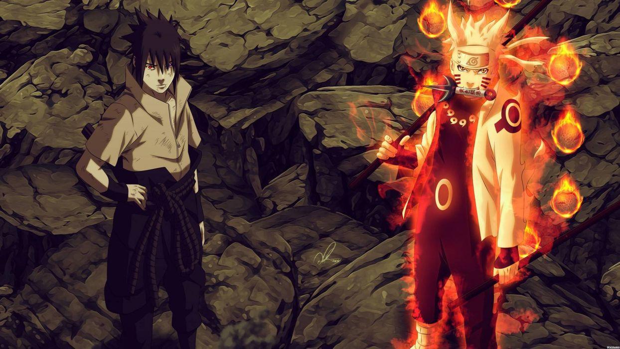 Naruto And Sasuke Wallpaper 1920x1080 508096 Wallpaperup