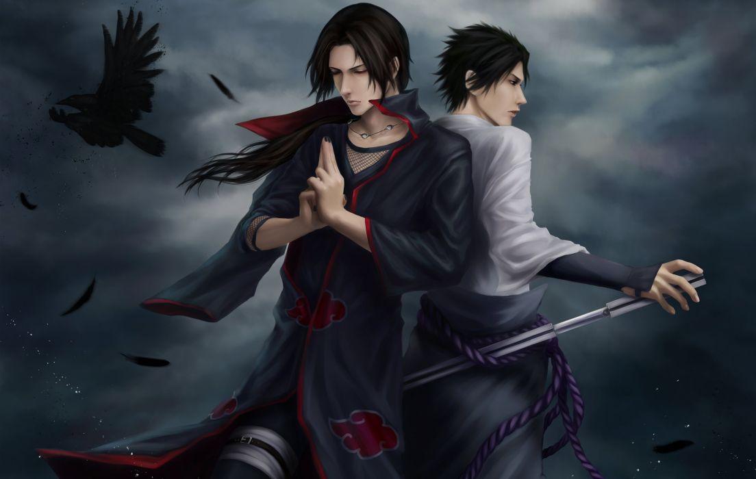 Sasuke and Itachi wallpaper