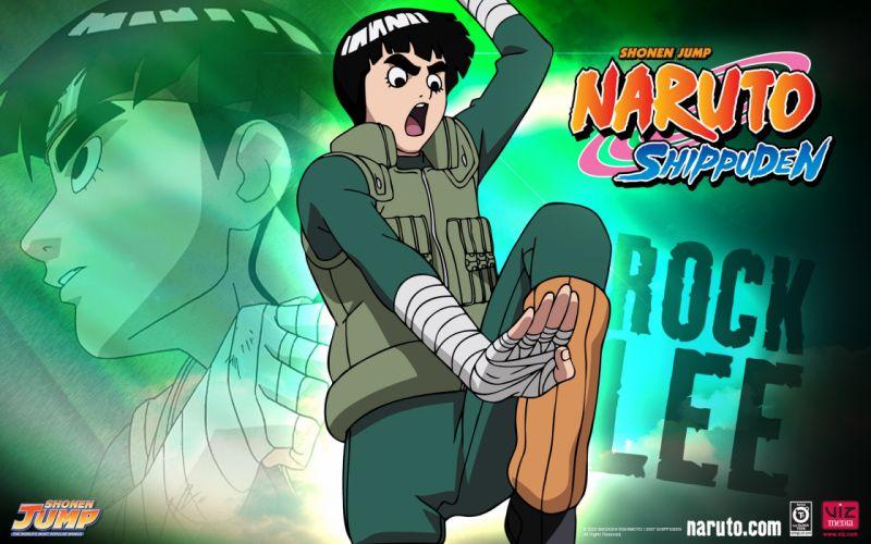 Naruto Rock lee wallpaper