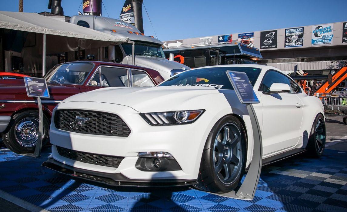 Ford Mustangs SEMA 2014 tuning cars wallpaper