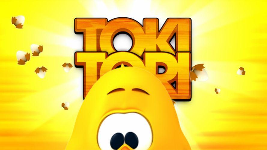 TOKI TORI platform puzzle family cartoon adventure wallpaper
