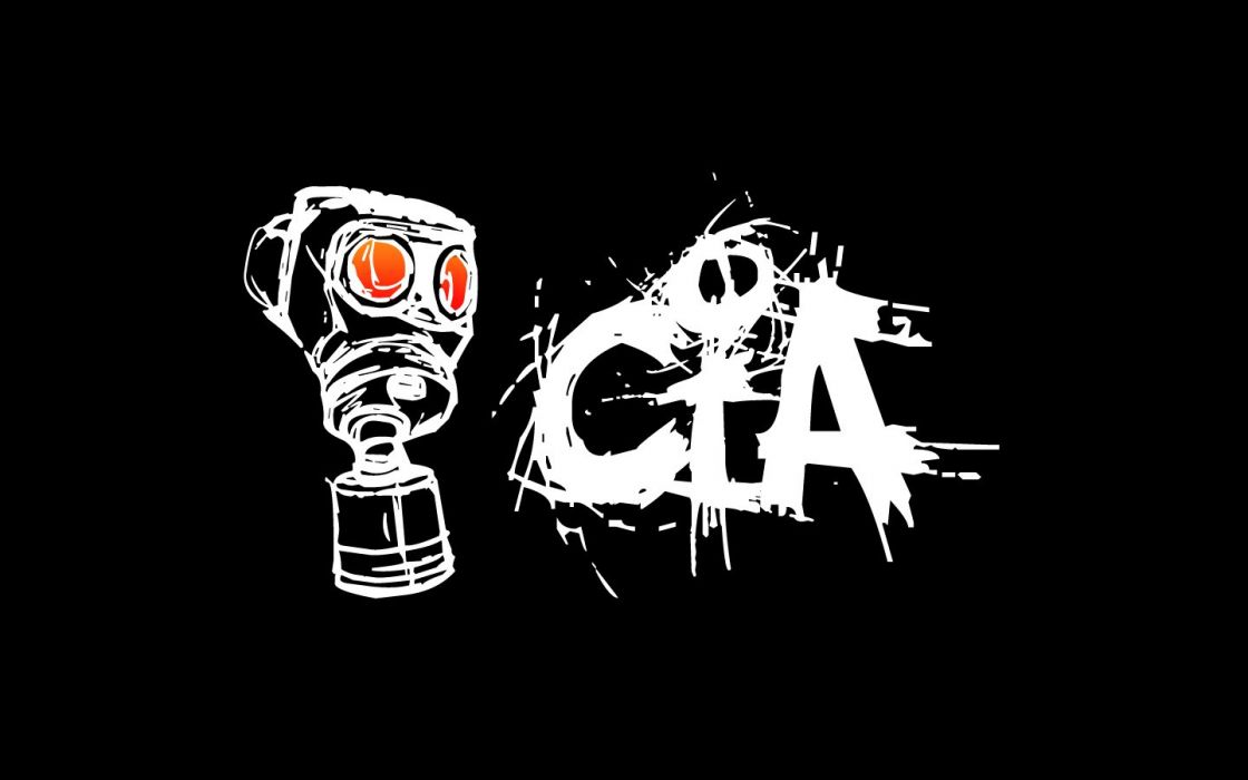 cia mask abstract art wallpaper