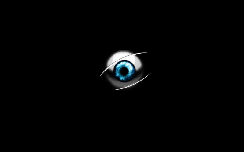 eye abstract art wallpaper