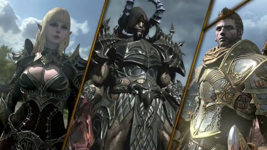 KINGDOM UNDER FIRE strategy fantasy fighting warrior mmo online wallpaper