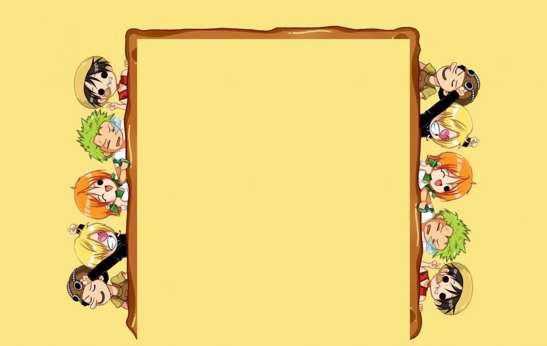 Funny Anime Frame Wallpaper