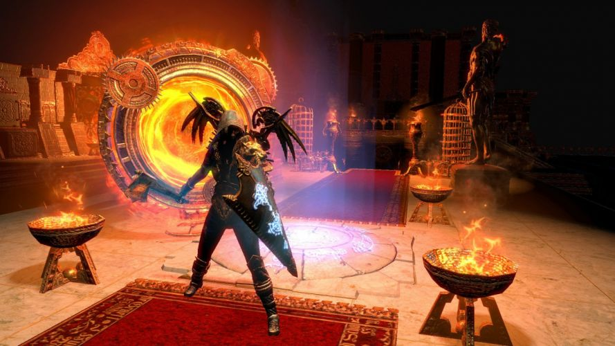 PATH OF EXILE online action rpg fantasy fighting wallpaper
