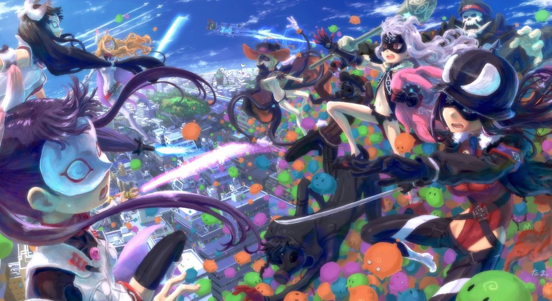 hoshimiya kate jimon asuta komadori renge male natasha roboko sekai seifuku shikabane gorou shikabane itsuka tagme (character) tama (pixiv69870) wallpaper