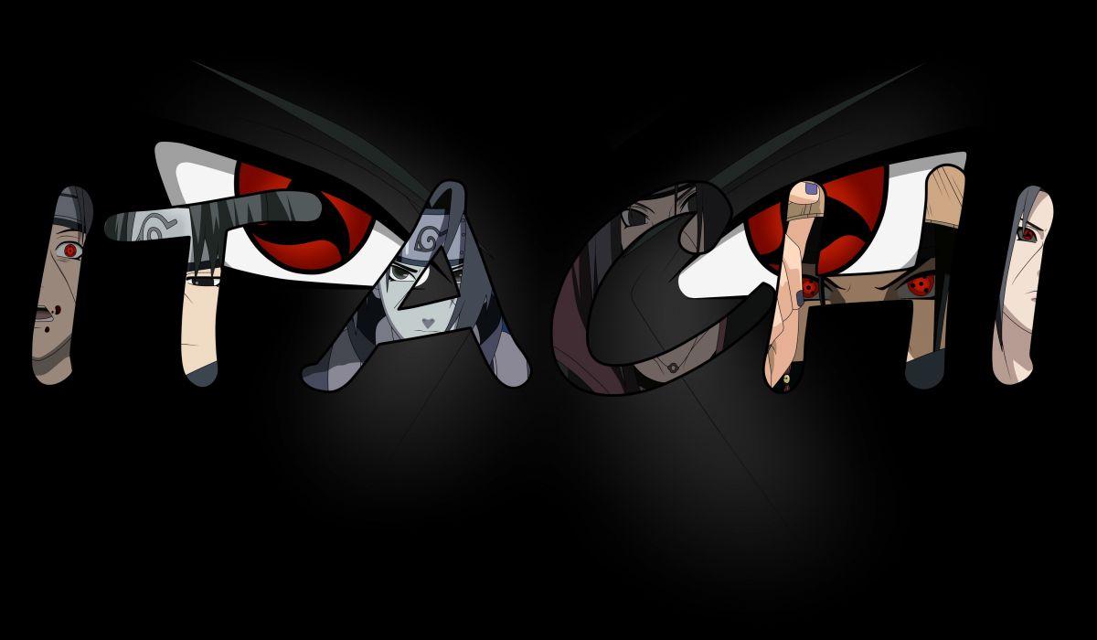 Black Headband Naruto Ninja Red Eyes Uchiha Itachi Uchiha Sasuke Vector Wallpaper 3500x2042 508845 Wallpaperup