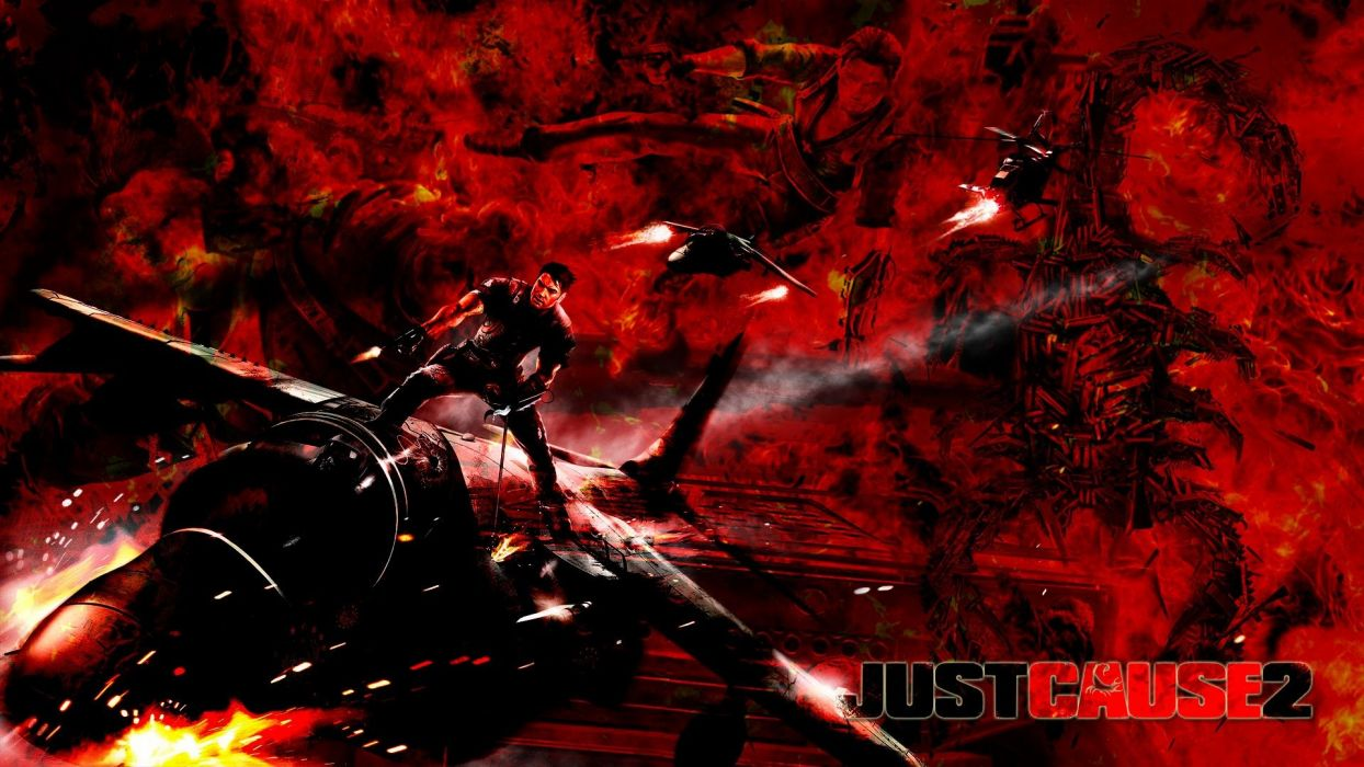 JUST CAUSE action adventure crime cia fighting wallpaper