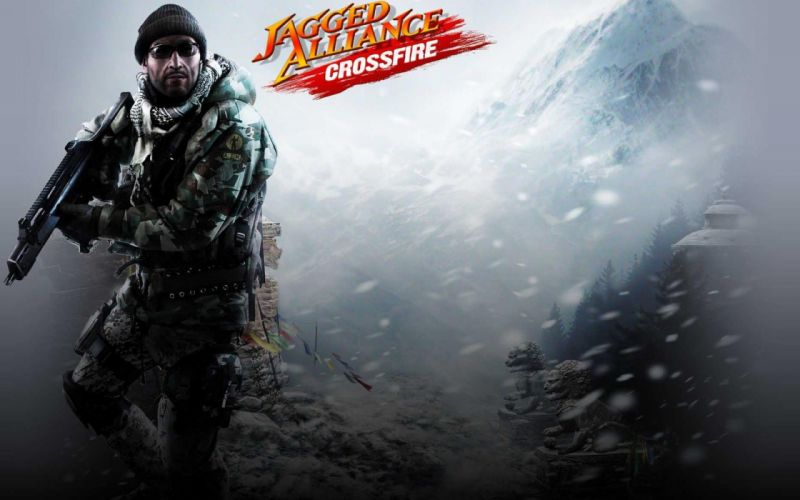 JAGGED ALLIANCE tactical rpg sci-fi fighting strategy action online shooter wallpaper
