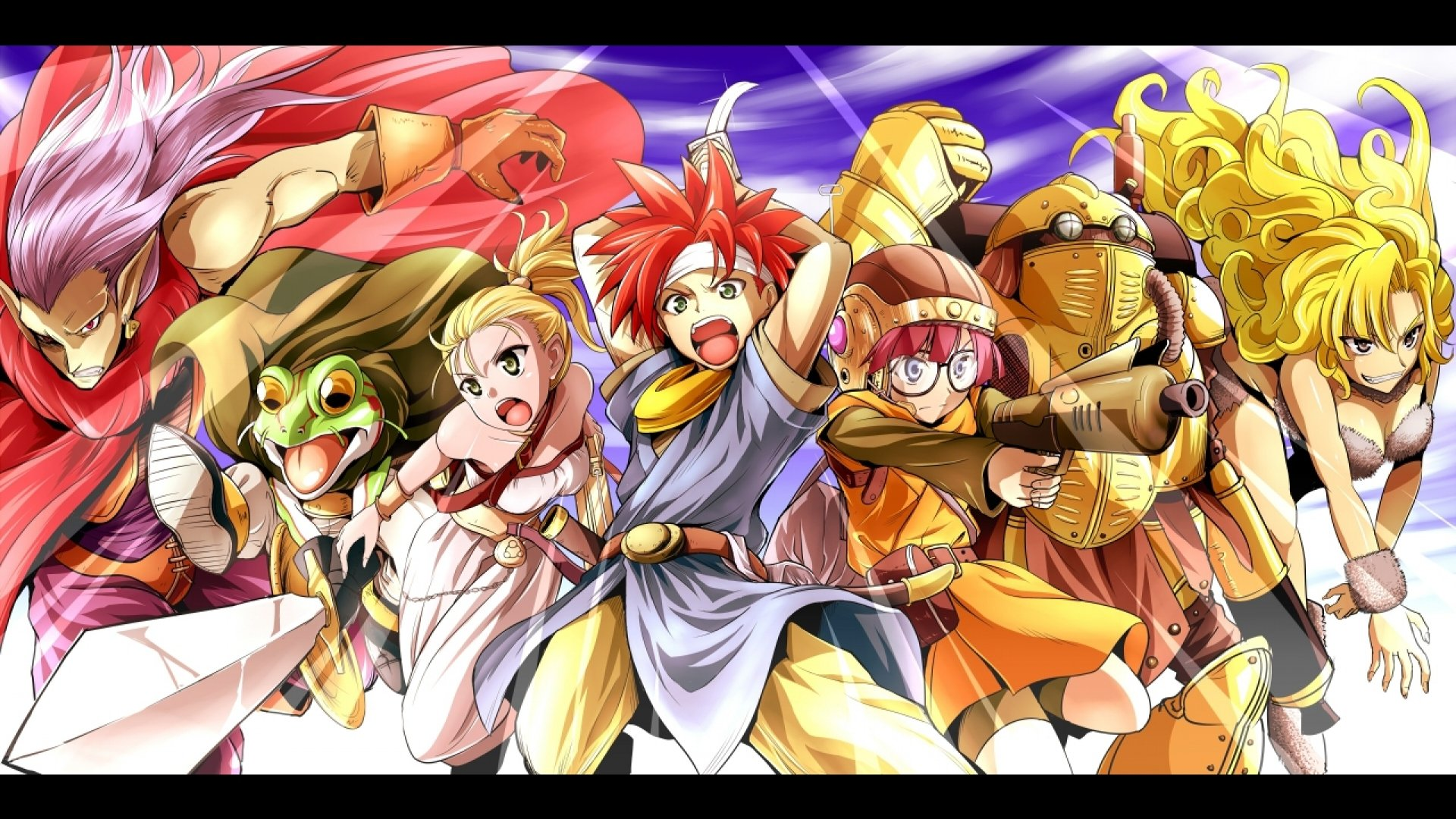CHRONO TRIGGER rpg anime action fantasy wallpaper ...
