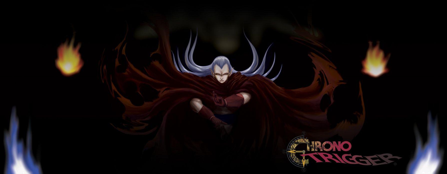 CHRONO TRIGGER rpg anime action fantasy wallpaper