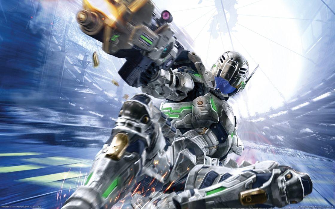 VANQUISH shooter sci-fi fighting action warrior wallpaper