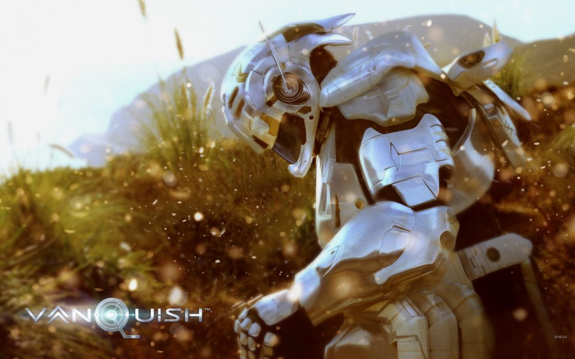 VANQUISH shooter sci-fi fighting action warrior wallpaper