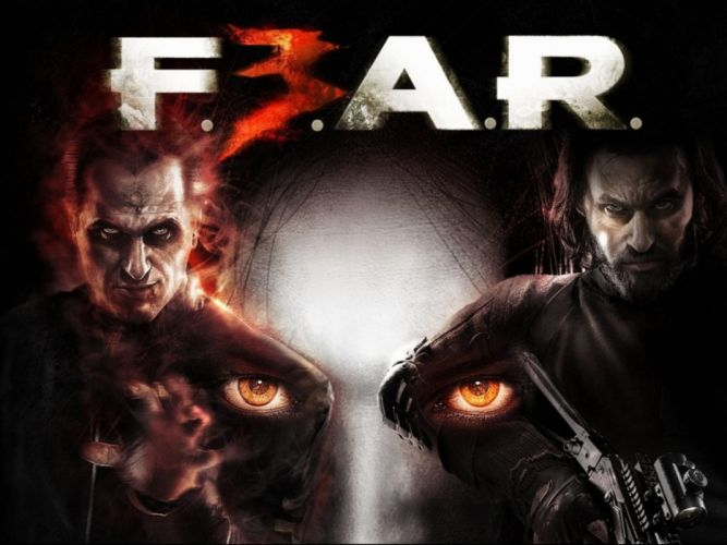 FEAR shooter horror dark supernatural online fighting wallpaper